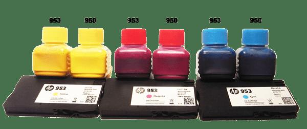 Tintenvergleich HP Pigmenttinte
